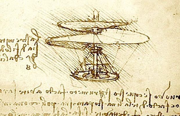 Elicottero Leonardo Da Vinci : Leonardo inventore il portale dei bambini